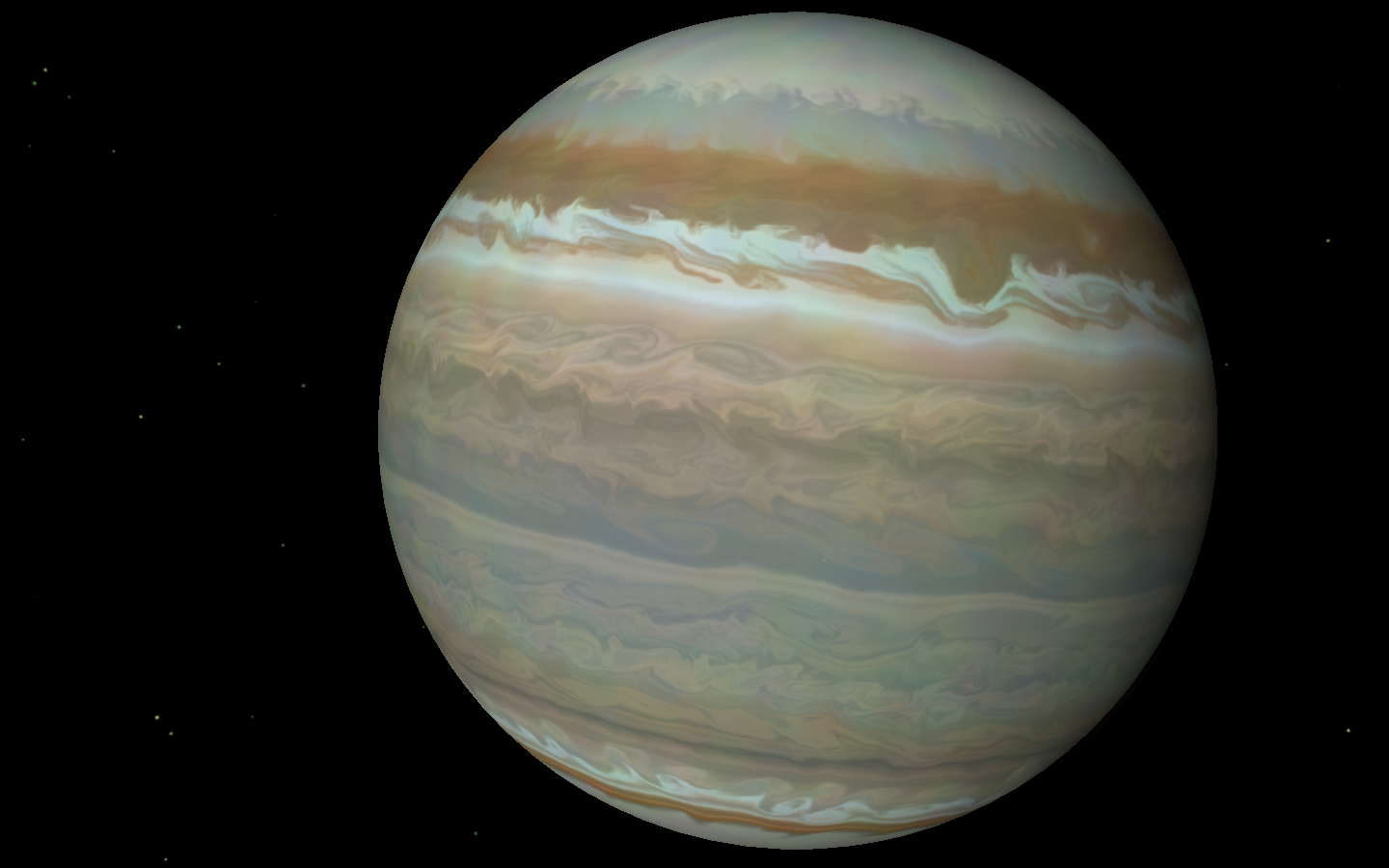 gas giant texture map - photo #33